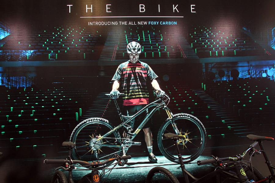 Eurobike 2014 highlights Mondraker představil karbonovou Foxy