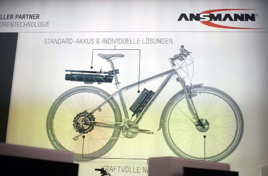 Ansmann - Eurobike 2014