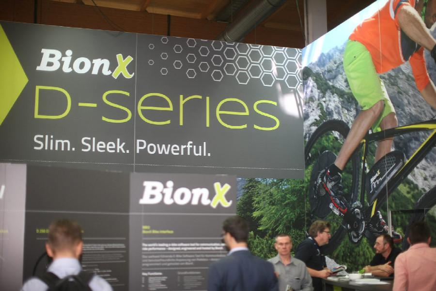 BionX Eurobike 2014 fotogalerie
