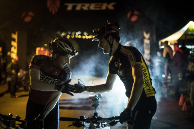 Trek Prague Night MTB Series 2014 #2 - Hostivař