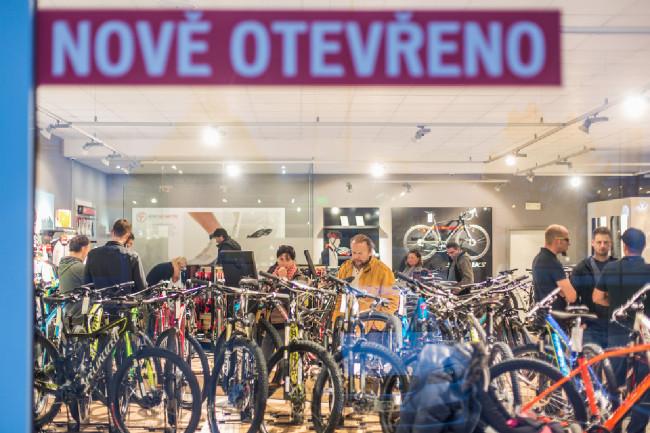 Otevření Specialized Concept Store v Č. Budějovicích