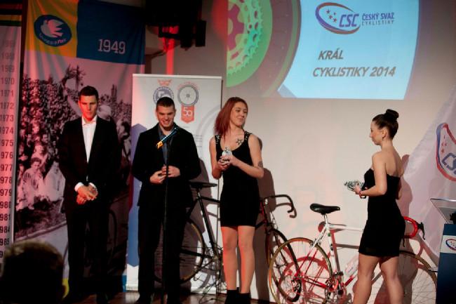 Král cyklistiky 2014 - Lukáš Měchura a Jaroslav Kulhavý