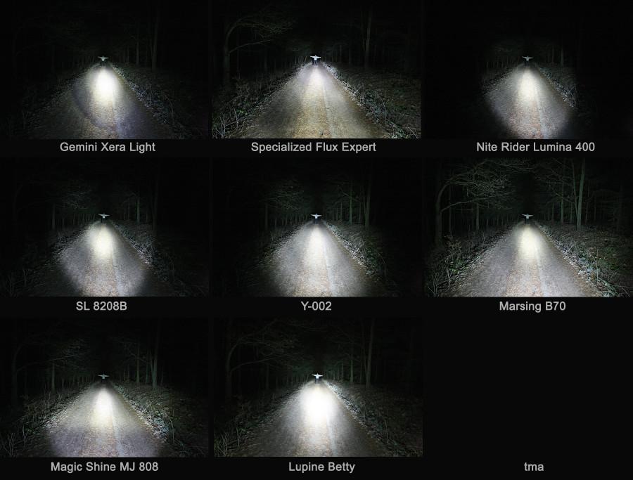 Test LED světel