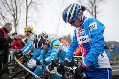 Katka Nash se soustředí před startem
