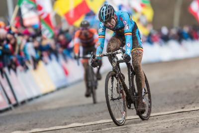Wout van Aert končí druhý