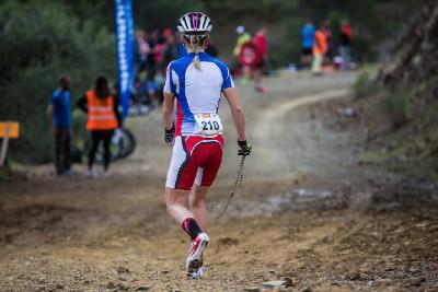 Janka Števková končí už v zaváděcím kole a jde si to do depa vyřídit s mechanikem
