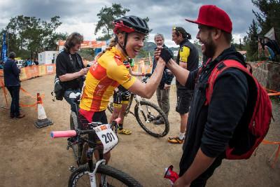 Annika Langvad slaví celkové vítězství