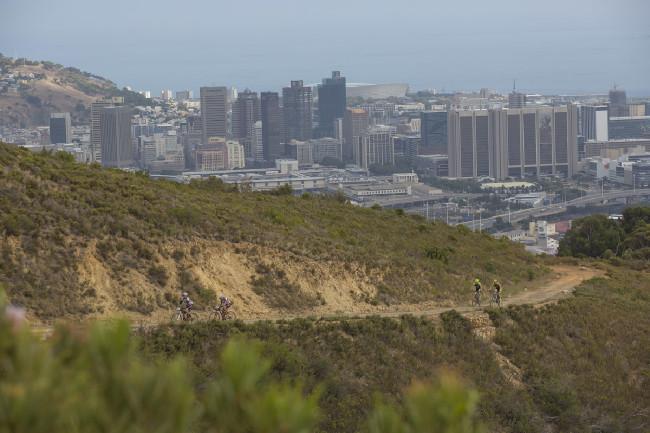 Výhledy na Kapské město byly úchvatné