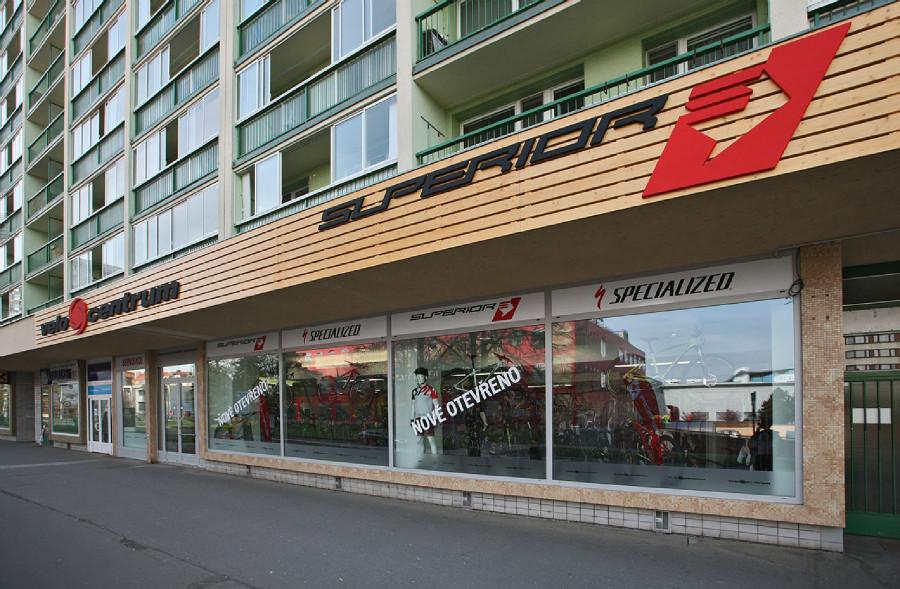 Fotogalerie: Velo Centrum otevřelo novou prodejnu Superior