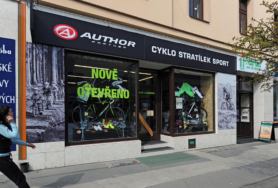 Slavnostní otevření Cyklo Stratílek Pardubice
