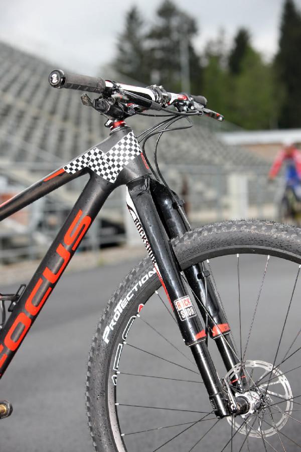 Focus prototyp Floriana Vogela - Vidlice Rock Shox RS-1
