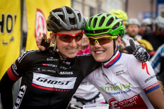 Pavlína Šulcová a Irena Berková na startu