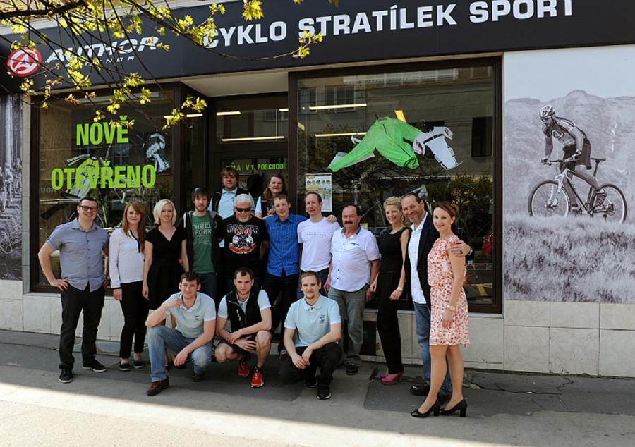 Fotogalerie z otevření nového obchodu Cyklo Stratílek