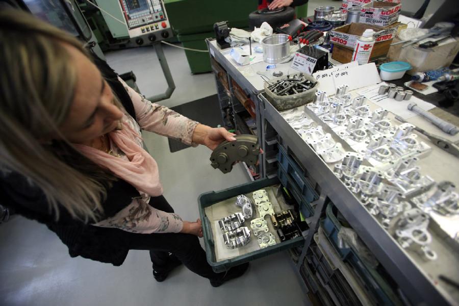 Na návštěvě v Goldfren - CNC produkce - nejmladší část firmy