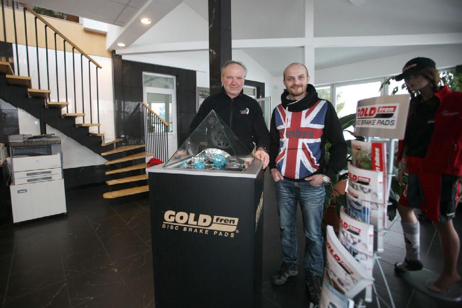 Na návštěvě v Goldfren