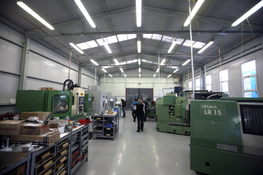 Na návštěvě v Goldfren - obráběcí CNC hala