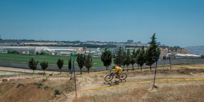 Jose Antonio Hermida krouží po trati