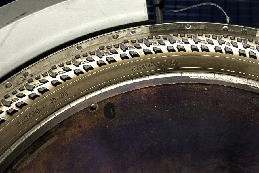 Na návštěvě v Rubeně - detail formy cyklopláště