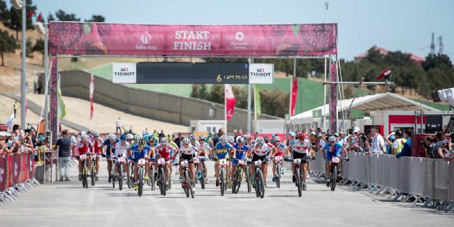 Odstartován historicky první závod na Evropských hrách