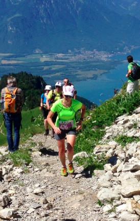 Běžecký závod do vrchu
