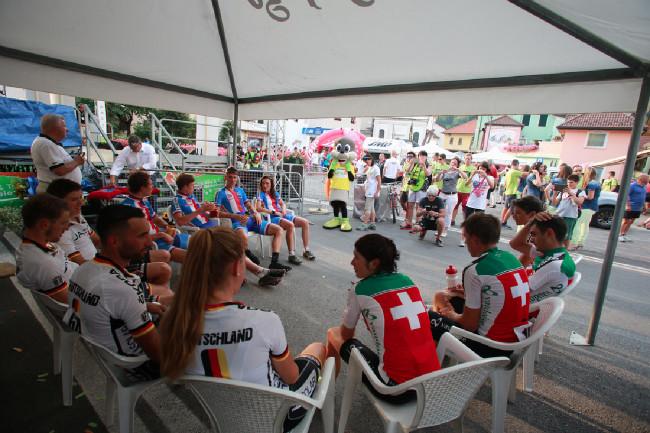 Mistrovství Evropy MTB 2015 - závod štafet
