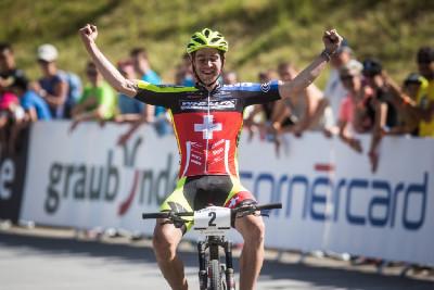 Lars Forster vítězí v kategorii U23
