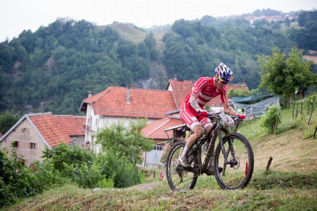 Mistrovství Evropy XCO 2015 - sobota - Simon Andreasen