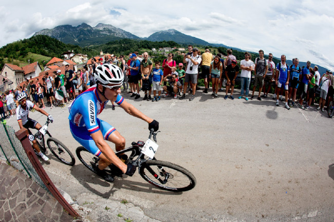 Mistrovství Evropy XCO 2015, Alpago - Jaroslav Kulhavý v prvním kole ještě v kontaktu