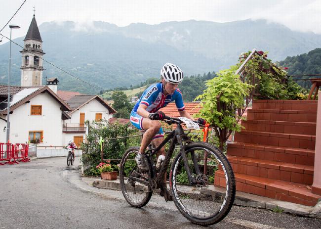 Mistrovství Evropy XCO 2015 - sobota - Barbora Průdková