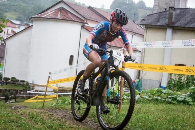 Mistrovství Evropy XCO 2015 - sobota - Adéla Šafářová