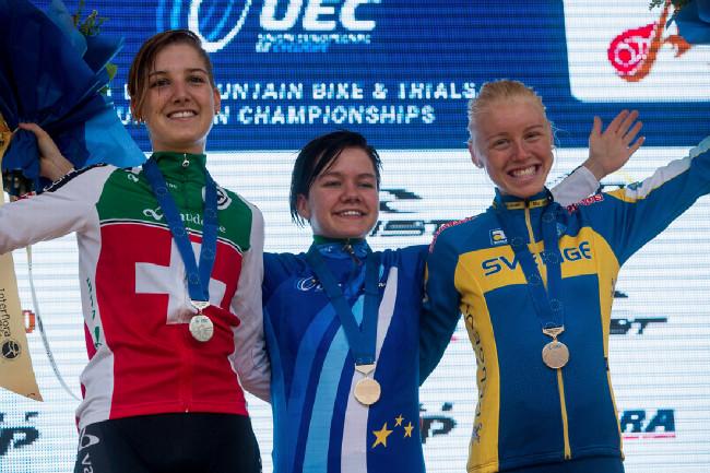 Mistrovství Evropy XCO 2015 - sobota - nejlepší juniorky