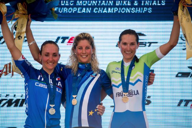 Mistrovství Evropy XCO 2015, Alpago - nejlepší ženy