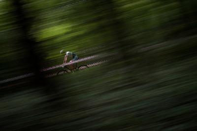 Závod kutnohorským křovím