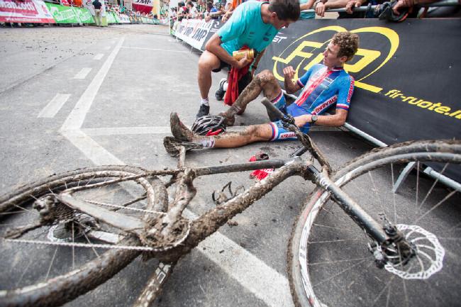 Mistrovství Evropy XCO 2015 - sobota - závod byl nesmírně těžký