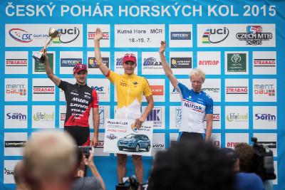 Jaroslav Kulhavý celkovým vítězem ČP MTB 2015