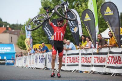 Ričrd Holec vyhrává závod kadetů