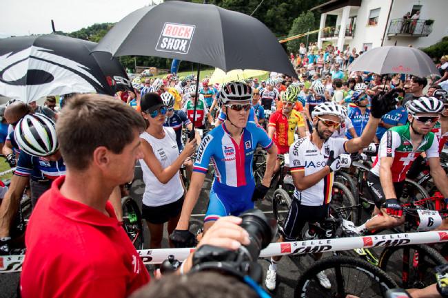 Mistrovství Evropy XCO 2015, Alpago - Jarda se už před startem netvářil dobře
