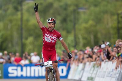 Nino Schuter letos poprvé vítězí