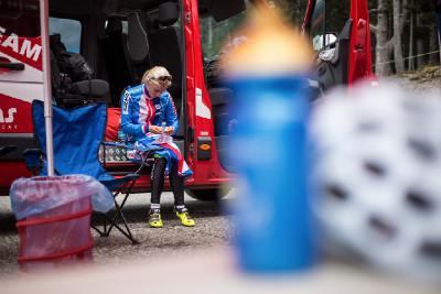 Vendula Kuntová se připravuje na svůj start v eliminátoru