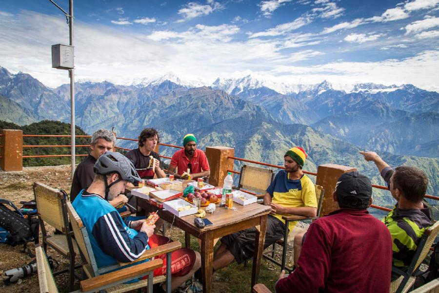 Střípky z tripu Pavla Horníka do Himalájí