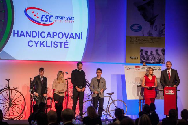 Král cyklistiky 2015 - medailisté handicapovaní cyklisté