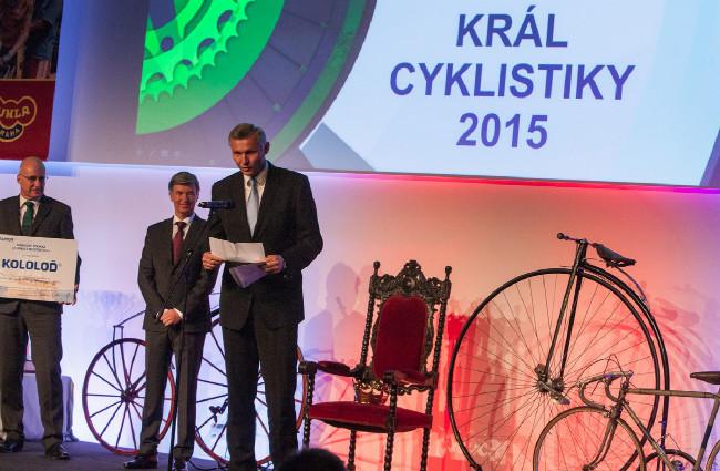 Král cyklistiky 2015 - generální ředitel ABF Tomáš Kotrč ohlásil vítěze