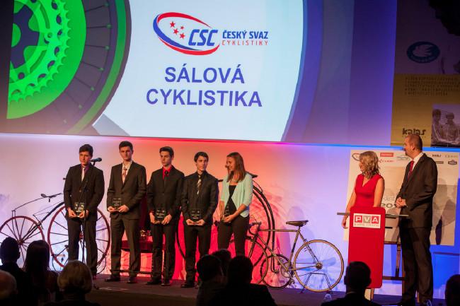Král cyklistiky 2015 - nejlepší sáloví cyklisté