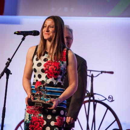 Král cyklistiky 2015 - bikrosařka Aneta Hladíková