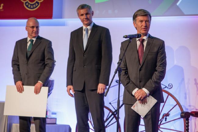 Král cyklistiky 2015 - prezident ČSC Marian Štetina