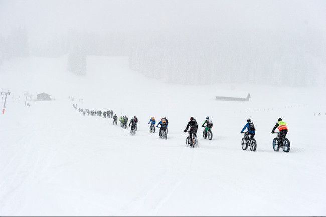 Snow Bike Festival , Gstaad 2016