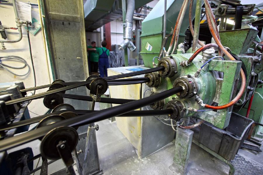 Mitas veloduše - výstup z druhé a finální fáze tlakového opracování
