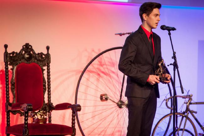 Král cyklistiky 2015 - nejlepší sálový cyklista Jiří Janošek