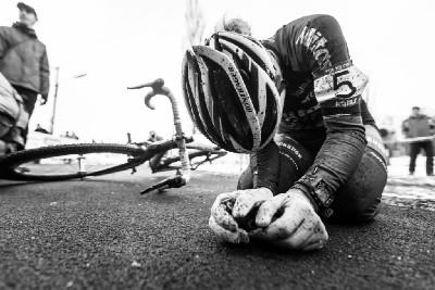 MČR cyklokros 2016: vyčerpaná čtvrtá Jana Czeczinkarová