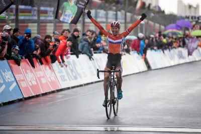 překvapivá vítězka Thalita De Jong